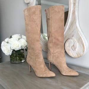 659a93458c5 Sam Edelman Shoes - Sam Edelman Olen Suede Camel Tan Knee-High Boots 6